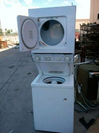 white front-load washer Phoenix, 85009