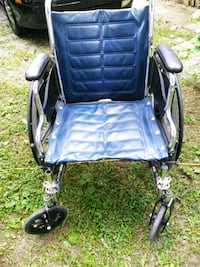 blue and black folding wheelchair Ringgold, 30736