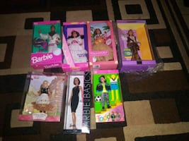 RARE DOLLS. . $170.00 FOR ALL ON LINE ,, MY PRICE $ 70.00 FOR ALL !!!!