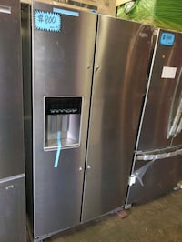 W. Side by side doors fridge NEW scratch and dent