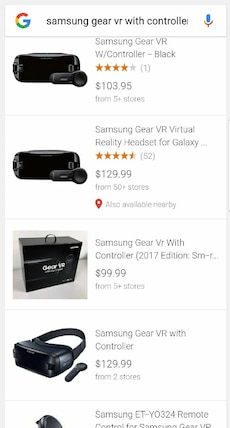 New Unopened Samsung Gear VR with Controller
