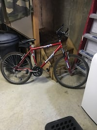 red and black mountain bike New York, 10304