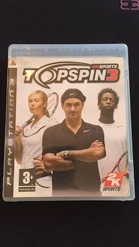 jeu Topspin 3 Sony PS3 Carrières-sous-Poissy, 78955