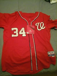 Bryce Harper authentic jersey.Washington Nationals Silver Spring, 20902