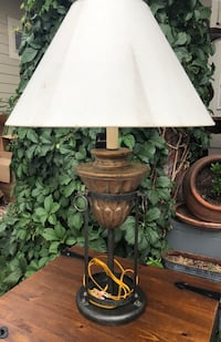 TWO Ashley Lamps. Cord winds into base. Beautiful lamps that make a statement! Aurora, 80014