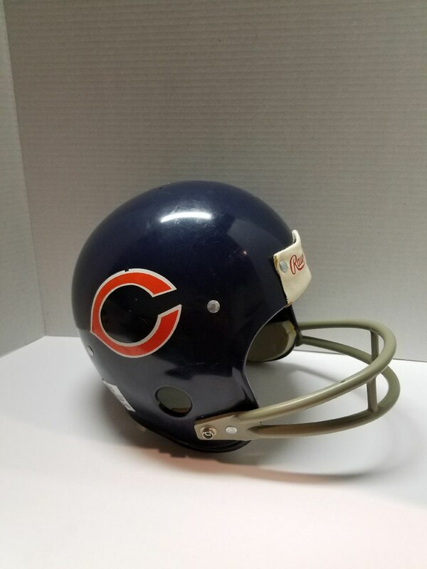 competitive price 4652e 7d8ff Chicago Bears Vintage Rawlings Helmet NFL