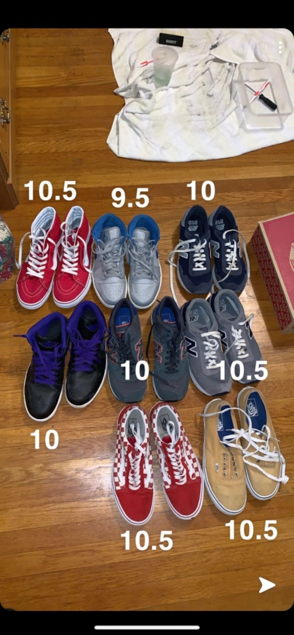 61f3fb03362a Used Assorted pairs of shoes for sale in Richmond - letgo