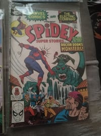 Marvel Comics Spidey Super Stories comic book Calgary, T1Y 2G6