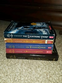 Percy Jackson & the Olympians book set