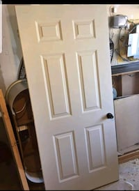 White steel door  Hamilton, L8N 2T8