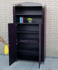 EGGPLANT COLORED SHELVING UNIT ????cheap delivery!  Frisco, 75034