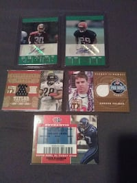 NFL TOPPS EXCLUSIVE AUTOGRAPH FOOTBALL +RELIC CARD