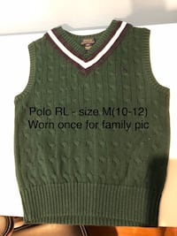 Group of 10 Boy's Sweaters/sweater vests/jeans - Size 7-8/10-12