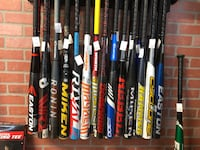 Softball Slowpitch bats ASA from $25 to $110