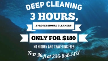 Deep house cleaning with