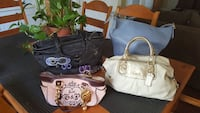 Coach and Juicy Couture purses
