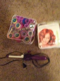 purple curling iron Grinnell, 50112