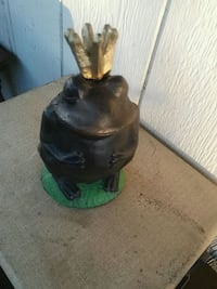 Old Cast Iron Prince Frog Placentia, 92870