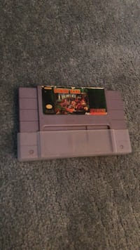 Nintendo SNES console with game cartridge Brantford, N3S
