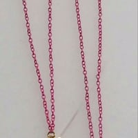 gold-colored chain necklace 53 km