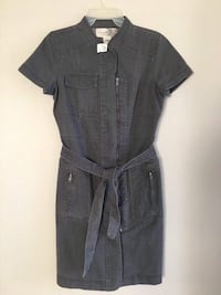 Brand new-denim le chateau dress