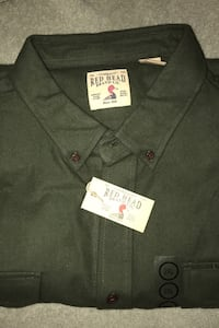 New 2XL Red Head Chamois Shirt Columbia, 21045