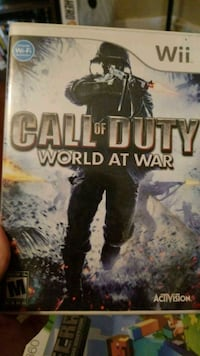 Call of Duty World at War wii Metairie, 70001