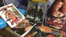 Art: Assorted book collections