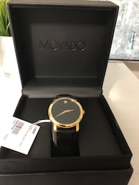 Movado authentic watch w/real gold brand new Toronto, M9W 6X1
