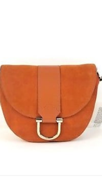Halston Heritage crossbody small leather suede bag Burnaby, V5H 1Z9