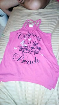 pink and white floral tank top Tucson, 85701