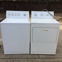 White clothes washer and dryer set Alexandria, 22304