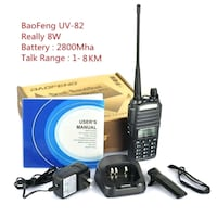 baofeng brand new uv-82 8w walkie talkie  Mississauga, L5V 1S7