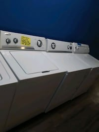 WHIRLPOOL TOP LOAD WASHER AND DRYER SET WORKING PERFECTLY WITH WARRANT Baltimore, 21223