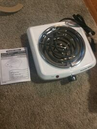 white Proctor-Silex portable electric stove Springfield, 22150