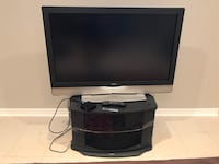 black and gray flat screen TV Mississauga, L5R 3M6