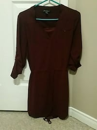 Burgandy dress size S Barrie, L4N 8B8
