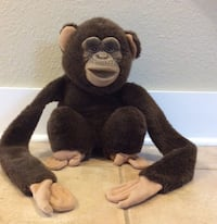 Vintage 1994 Plush Squeaky Monkey Hand Puppet-Excellent Condition  Woodinville, 98072