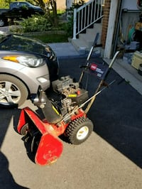 red and black push mower Mississauga, L4W 3N6