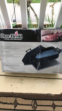 Small patio bbq grill. Still in the box. Hasn't ever been used. Knoxville, 37923