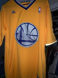 Steph curry warriors jersey