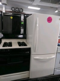 Kenmore combo refrigerator and gas range