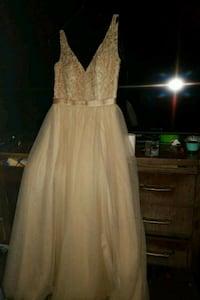 Tan Vneck Prom Dress Shelbyville, 37160
