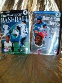 The World of Baseball and Home Run Heroes books Marion, 46952