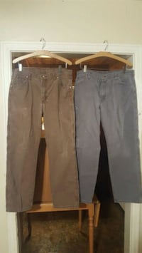 2 pair of work jeans
