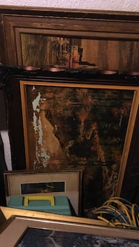 Antique frames with signed paintings going cheap.  Please contact  [PHONE NUMBER HIDDEN]