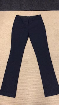 Navy blue checkered dress pant Vaughan, L6A 1Z1