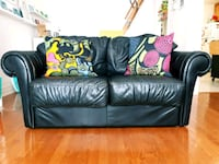 Authentic leather Italian sofa Toronto, M6H 2K7