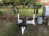Olympic bar and weight bench Norfolk, 23504