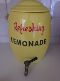 Large ceramic Lemonade (or any beverage) dispenser